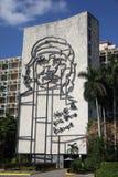 Wizerunek Che Guevara w Hawańskim, Kuba Obraz Royalty Free