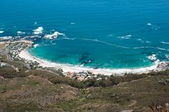 Wizerunek Clifton Plaża od Lwów Głowy Fotografia Stock