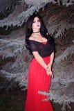 Wizerunek czarownica dla Halloween Obrazy Royalty Free