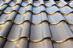 Wizerunek Dachowa płytka, wzór, dom Obrazy Royalty Free
