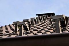 Wizerunek dekarstwo płytki, dom, architektura Fotografia Royalty Free
