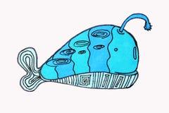 wizerunek Denni mieszkanowie, ryba kawaii animais ilustracji