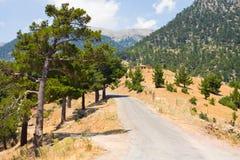 Wizerunek droga blisko Alanya w Taurus górach, Turcja Obrazy Royalty Free