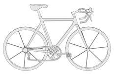 Wizerunek klasyczny rower ilustracja wektor