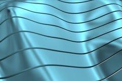 WIZERUNEK krzywy I linie NAD błękita srebrem I PRZEJRZYSTYM kolorem ilustracji