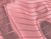 WIZERUNEK krzywy I linie NAD purpurami I metalu kolorem ilustracja wektor