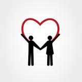 Wizerunek mężczyzna i kobiety miłość Fotografia Stock