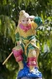 Wizerunek małpia statua fotografia royalty free