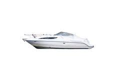 Wizerunek motorowe łodzie odizolowywać na białym tle Zdjęcie Royalty Free