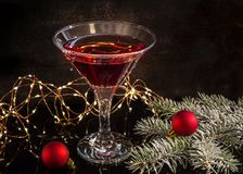 Wizerunek od Martini zdjęcia stock