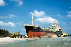 Wizerunek odzysku statek ORAPIN 4 obrazy stock