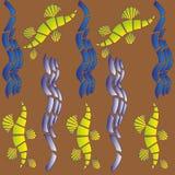 Wizerunek oryginalna abstrakcjonistyczna tekstura Obraz Royalty Free