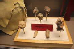 Wizerunek postacie zakładają przy Etowah kopa Historycznym miejscem obraz stock