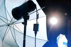 Wizerunek Pracowniany oświetlenie obrazy royalty free