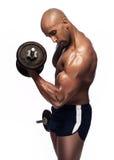 Wizerunek przepocony bodybuilder Zdjęcia Royalty Free