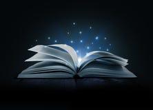 Wizerunek rozpieczętowana magii książka ilustracji