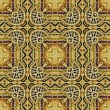 Wizerunek rzeźbiący złoty ornament Obrazy Royalty Free
