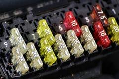 Wizerunek samochodowy lontu pudełko Zdjęcie Stock
