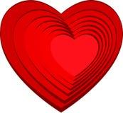Wizerunek serce. wakacje miłość. Fotografia Royalty Free