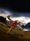 Wizerunek straszny fantazja krajobraz Zdjęcia Royalty Free