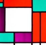 Wizerunek stubarwny witrażu okno Fotografia Stock