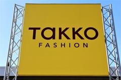 10/01/2017 wizerunek Takko logo Zły Pyrmont, Niemcy -/- Zdjęcie Stock