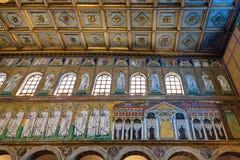 Wizerunek Theodoric pałac w Sant Apollinare Nuovo Zdjęcie Royalty Free
