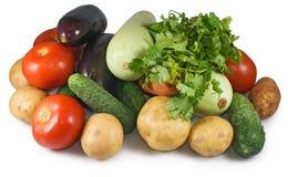 Wizerunek wiele warzyw zakończenie Zdjęcia Royalty Free