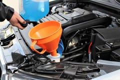 Wizerunek windscreen fluid zdjęcie stock