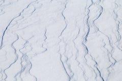 Wizerunek z śnieżną teksturą Fotografia Stock