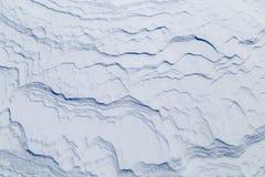 Wizerunek z śnieżną teksturą Obraz Stock