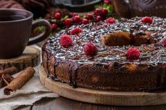 Wizerunek z curd tortem Obrazy Stock