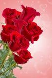 Wizerunek z czerwonymi różami Obrazy Stock