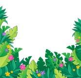 Wizerunek z dżungla tematem 7 Zdjęcia Stock