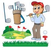 Wizerunek z golfowym tematem 6 ilustracji
