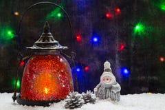 Wizerunek z latarką Fotografia Stock