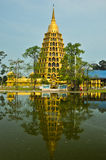wizerunek złocista pagoda Zdjęcia Royalty Free