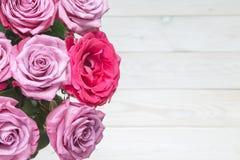Wizerunek z różami Zdjęcia Stock