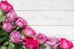 Wizerunek z różami Zdjęcie Stock