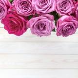 Wizerunek z różami Obraz Royalty Free