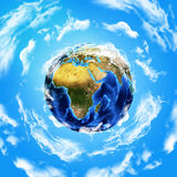 Wizerunek ziemska planeta Fotografia Royalty Free