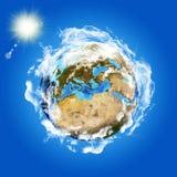 Wizerunek ziemska planeta Obraz Stock