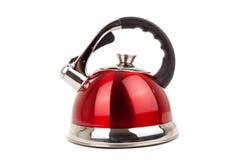wizerunków czajnika kuchenny serii artykuły Zdjęcie Stock
