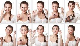 wizerunków makeup set Zdjęcie Royalty Free
