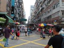 Wizerunki Fa Yuen Uliczny rynek w Hong Kong obrazy stock
