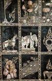 Wizerunki na ciekach Opiera Buddha Zdjęcie Royalty Free