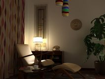 wizerunku domowy midcentury Fotografia Royalty Free