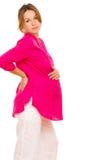 wizerunku kobieta w ciąży Fotografia Stock