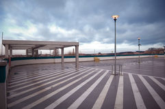 wizerunku konceptualny parking Zdjęcia Stock
