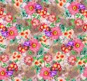 Wizerunku kwiatu tła cyfrowego koloru kolorowy wzór royalty ilustracja